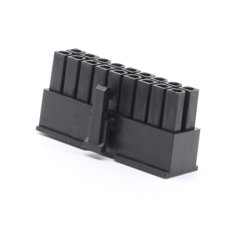 18p Molex 4.2mm distance PCB circuit board connector socket connector plug 5557 male plastic shell ATX computer