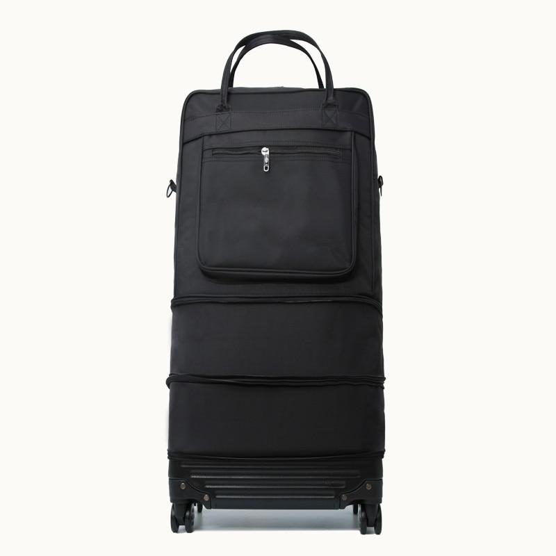 Дорожные сумки на колесиках для женщин и мужчин, Обучающие зарубежные авиаперевозчики, вместительный чемодан для хранения, водонепроницае...