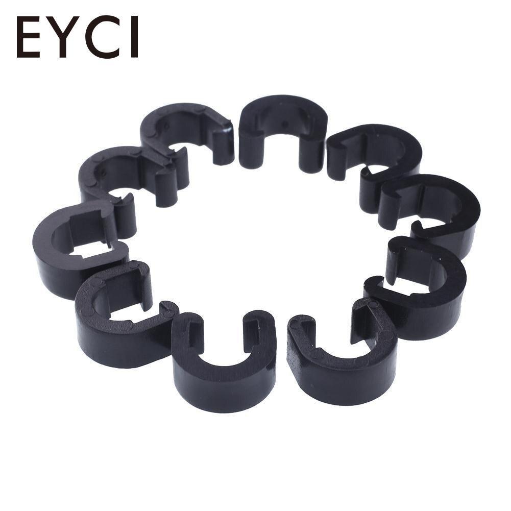 50 шт. C-Clip Кабель корпус шланга руководство для тормозного кабеля велосипед MTB C-Clips Пряжка шланг тормозной линии Аксессуары для велосипеда