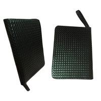 48 Pens Case Luxury Black Leather Pencil Case/Bag For Roller Ball Pen / Fountain Pen /Ballpoint Pen Binder Stationery