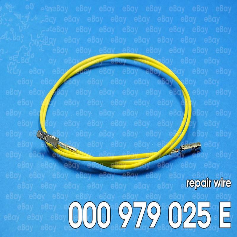 10 unids/lote ECU/módulo de bobina terminales de crimpado pines con Cables de 50cm para cable de reparación 000979025E para Audi VW VAG Skoda Seat