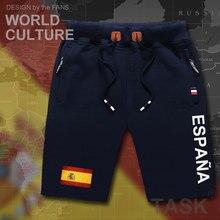 Koninkrijk Spanje Espana heren shorts strand nieuwe mannen board shorts vlag workout ritsvak zweet 2017 nieuwe ESP spaans Spanjaard