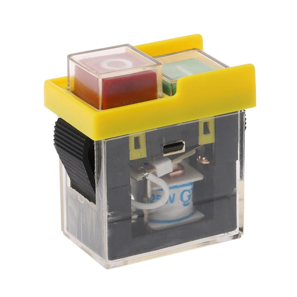 A máquina eletromagnética impermeável do botão de pressão da c.a. 250v 6a viu a broca do cortador em fora