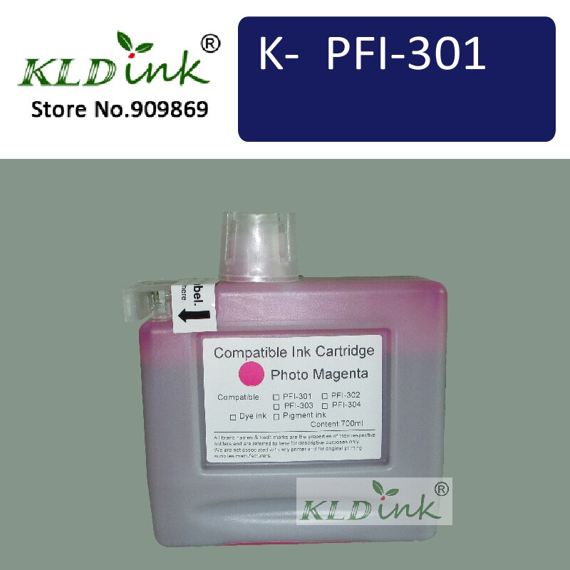 Kldink - PFI-301PM Photo Magenta cartucho de tinta ( PFI301 1491B001 tinta )