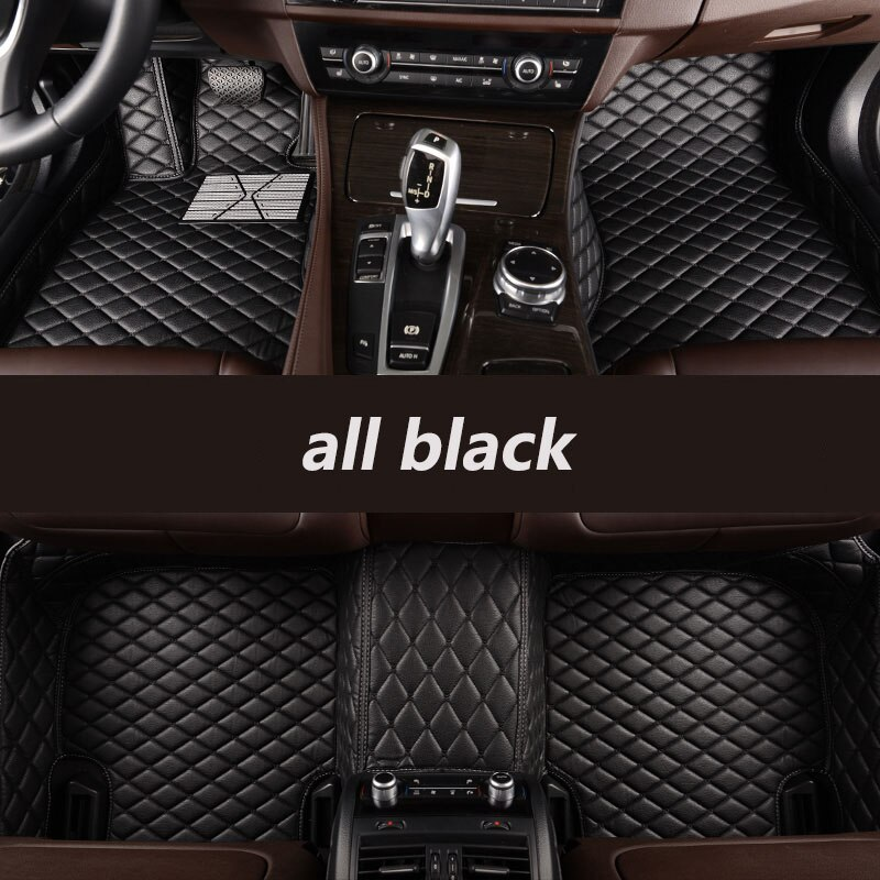 kalaisike Custom car floor mats for Toyota All Models land cruiser prado camry rav4 corolla highlander yaris venza prius Alphard enlarge