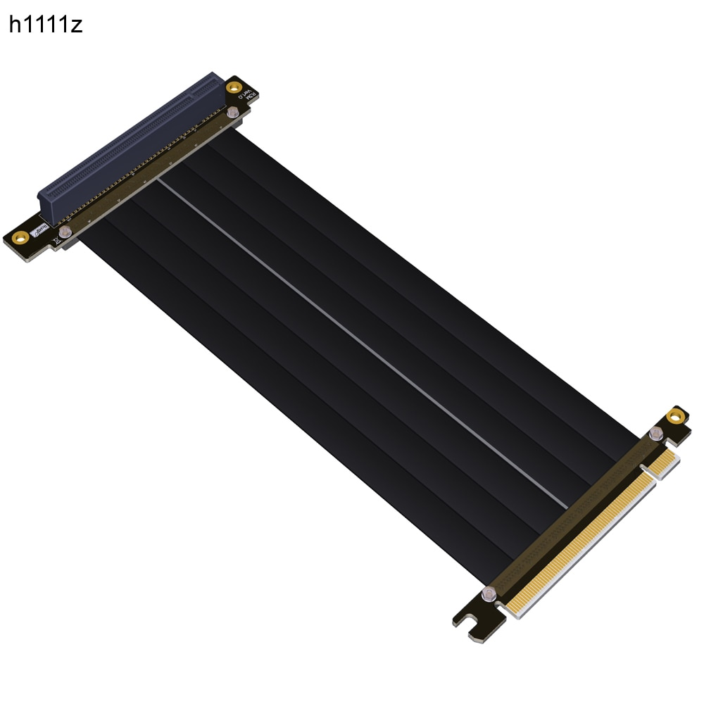 Gen3.0 PCI-E 16x إلى 16x الناهض موسع بكيي التعدين كابل ل PHANTEKS ENTHOO Evolv تحول PH-ES217E/XE PK-217E/XE ITX اللوحة