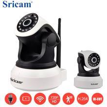 Cámara Sricam SP017 720PHD IP inalámbrica IR cámara de visión nocturna NVR P2P detección de movimiento PanTilt cámara de vigilancia de interior CCTV
