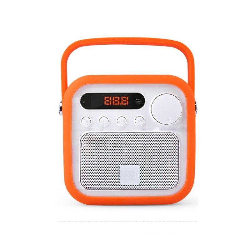 Portable Mini Speaker Subwoofer mini Audio Radio MP3 music audio Player soundbar subwoofer support card fm radio