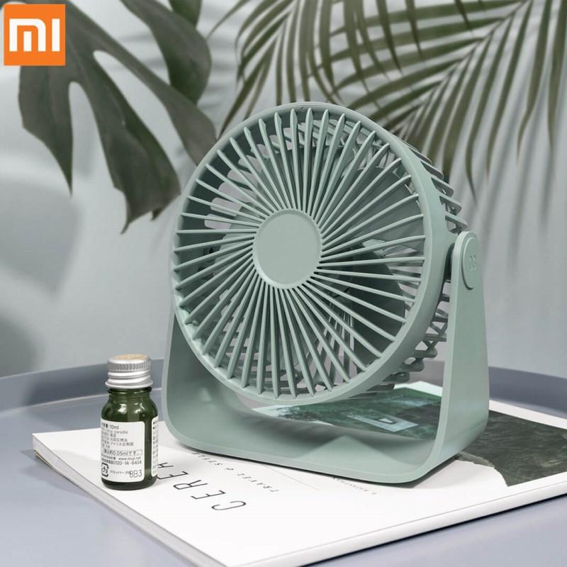 Xiao mi Mijia Sothing USB Desktop Fan Shaking Head 3rd Wind Speed Gear Adjustable USB Fan for Home Office