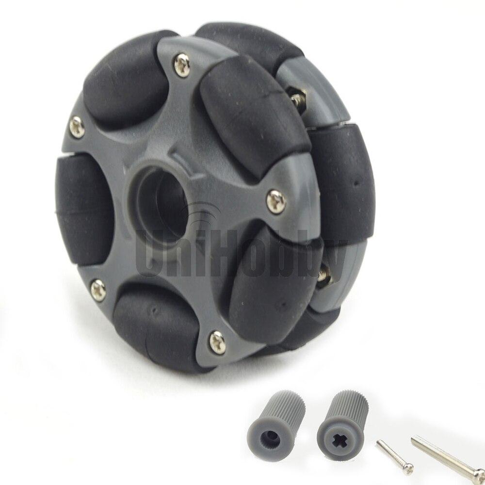 Пластиковые omni-колеса UniHobby UH135 58 мм для