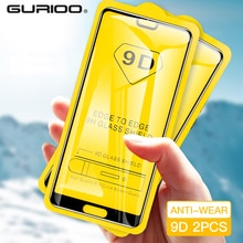 2 шт. 9D закаленное стекло для Huawei Honour 6X 7X 8X Max 7A 8A Play magic 2 Защита экрана для Honor V8 8S 8 Lite стеклянная пленка