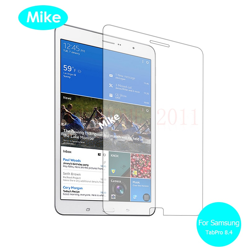 For Samsung Galaxy Tab Pro 8.4 Front Tempered Glass screen Protector 9h Safety Protective Glass On SM T325 T321 SM-T321 SM-T325