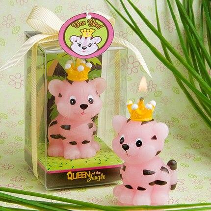Molde de silicone crianças festa de aniversário suprimentos vela de aniversário criativo moldes de vela molde tigre moldes de borracha de silicone przy 001