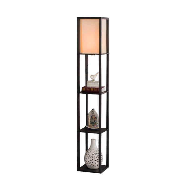 Lámpara de piso de madera moderno minimalista sala de luz Vintage lámpara de noche para dormitorio altura 160cm lámpara de pie para la sala
