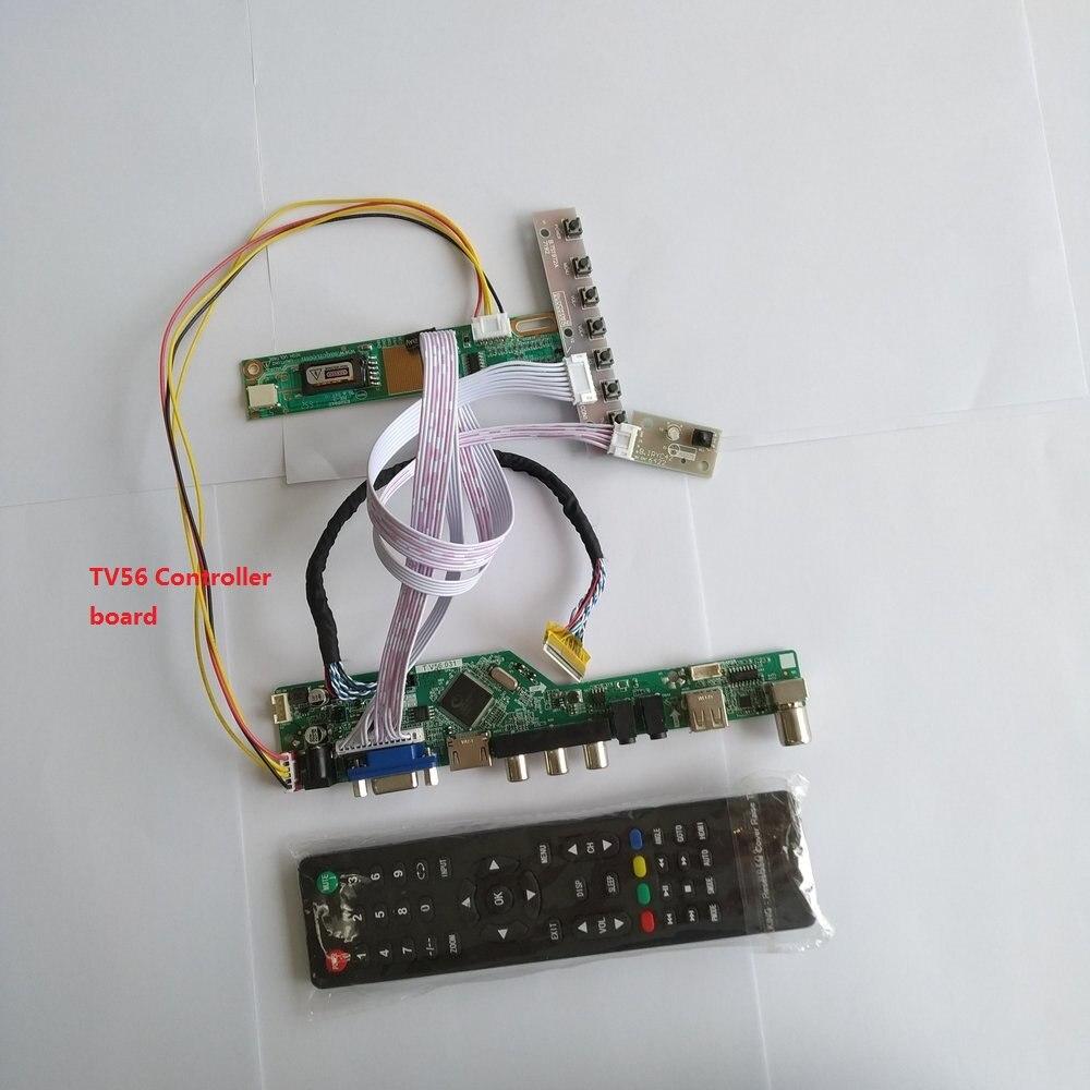 وحدة واجهة USB LP154WP1 TLE1 ، إشارة رقمية 1 مصباح 15.4 بوصة ، دقة 30 دبوس ، تلفزيون VGA HDMI ، لوحة تحكم AV 1440X900
