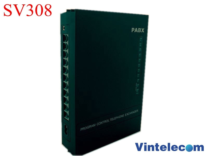 3CO + 8Ext-SOHO PBX/PABX Pequeno-para pequenas businss solução-Frete Grátis