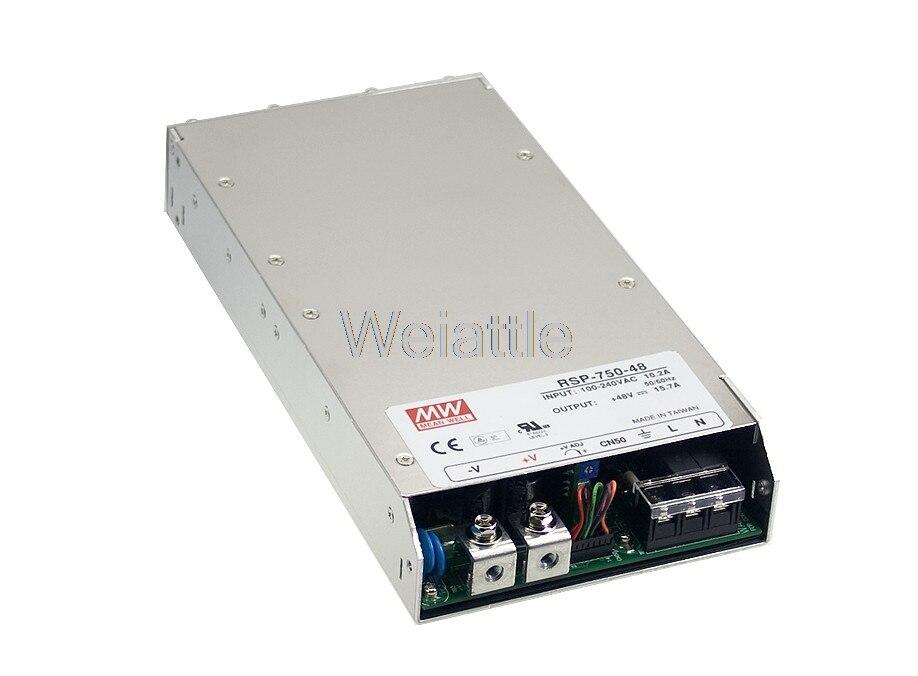 يعني حسنا الأصلي RSP-750-5 5V 100A meanwell RSP-750 5V 500W خرج واحد إمدادات الطاقة
