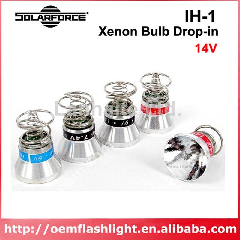 Módulo reflector de bombilla de Gas de xenón Solarforce IH-1, 14V
