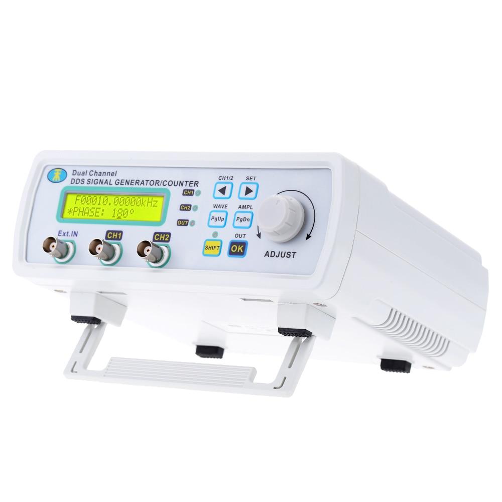 200MSa/s 6MHz Mini generador de señal DDS generador de funciones Digital de doble canal