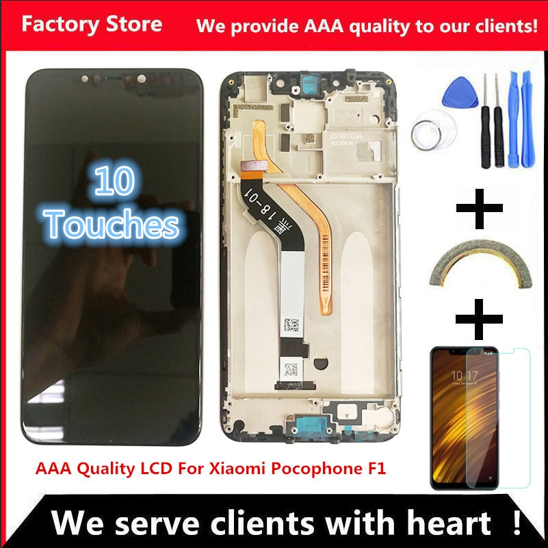 618-aaa-quality-lcd-frame-for-xiaomi-pocophone-f1-lcd-display-screen-for-poco-f1-lcd-screen-display-2246-1080-resolution