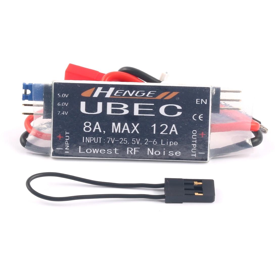 JMT 8A UBEC Выход 5В/6В 6A / 8A Max 12A Inport 7V-25,5 V 2-6S Lipo/на возраст от 6 до 16 Сотовый металл-гидридных или никель Вход модели коммутатора BEC для дрона с диста...