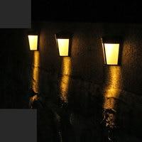 Уличный светодиодный фонарик с солнечной батареей, теплый и холодный свет, водонепроницаемый светильник льник от солнца для забора, садово...