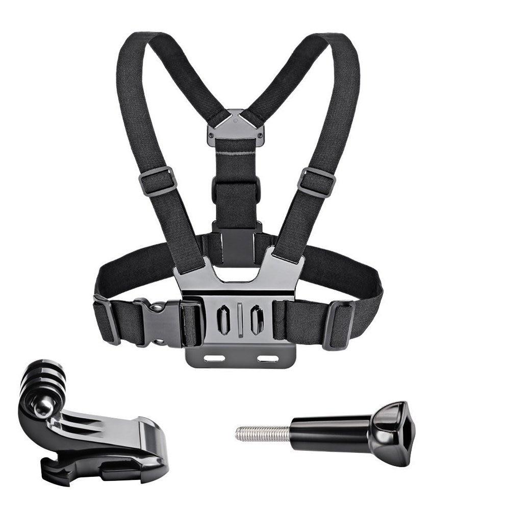 GoPro accessoires réglable poitrine support harnais poitrine sangle ceinture pour GoPro HD Hero6 5 4 3 + 3 1 2 SJ4000 SJ5000 Sport caméra