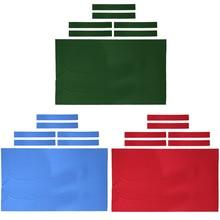 Feutre de Table de billard professionnel de 9 pieds + 6 bandes de feutre feutre de tissu de billard pour Table de 9 pieds accessoires de billard 0.6mm