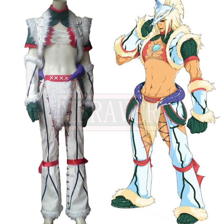 Monster Hunter Kirin Set Cosplay Costume  Custom Made Free Shipping