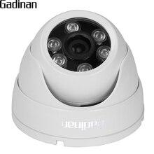 GADINAN ONVIF-boîtier métallique   IP66, objectif grand Angle 2.8mm H.264 720P 960P H.265 1080P 3516CV300, caméra IP Anti-vandalisme