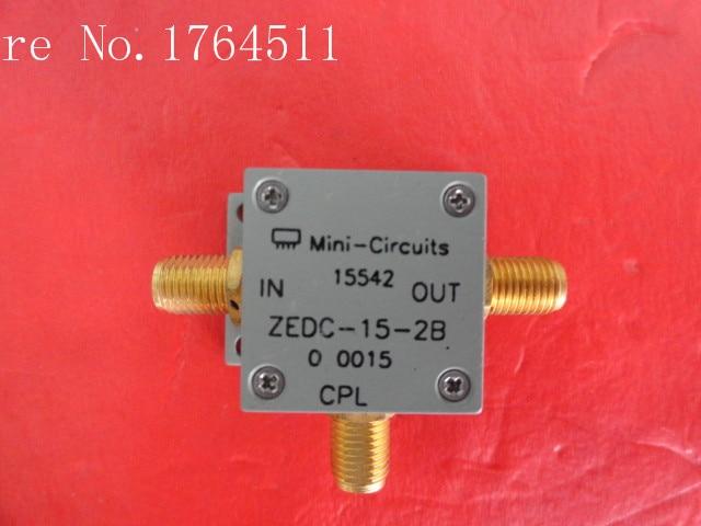 [LAN] التبديل البسيطة ZEDC-15-2B 1-1000MHz انقلاب: 15dB SMA امدادات المقرنة