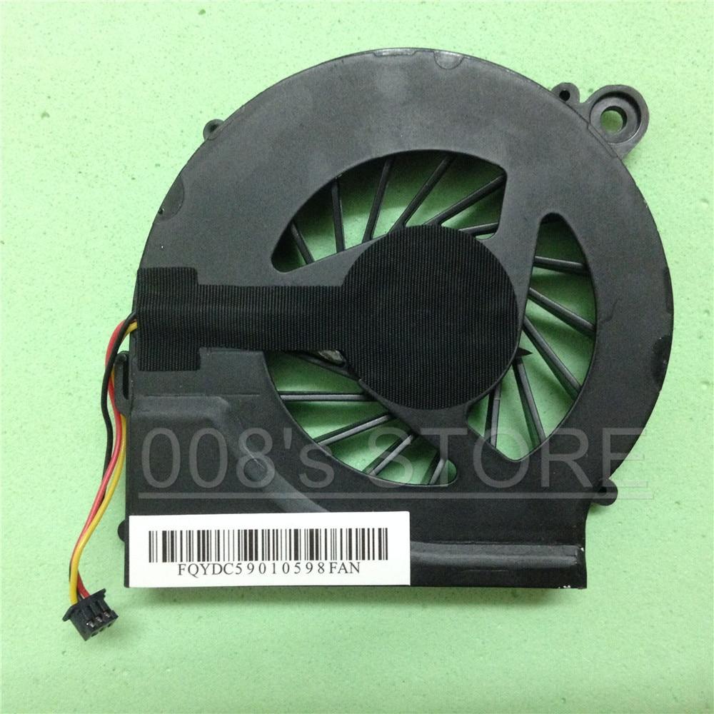Новый охлаждающий вентилятор для процессора hp Compaq Presario CQ42 G62 CQ62Z G62T CQ56 CQ56z G62m G62x G42t G7-1318dx 1310us 1316dx 1320dx 3-контактный