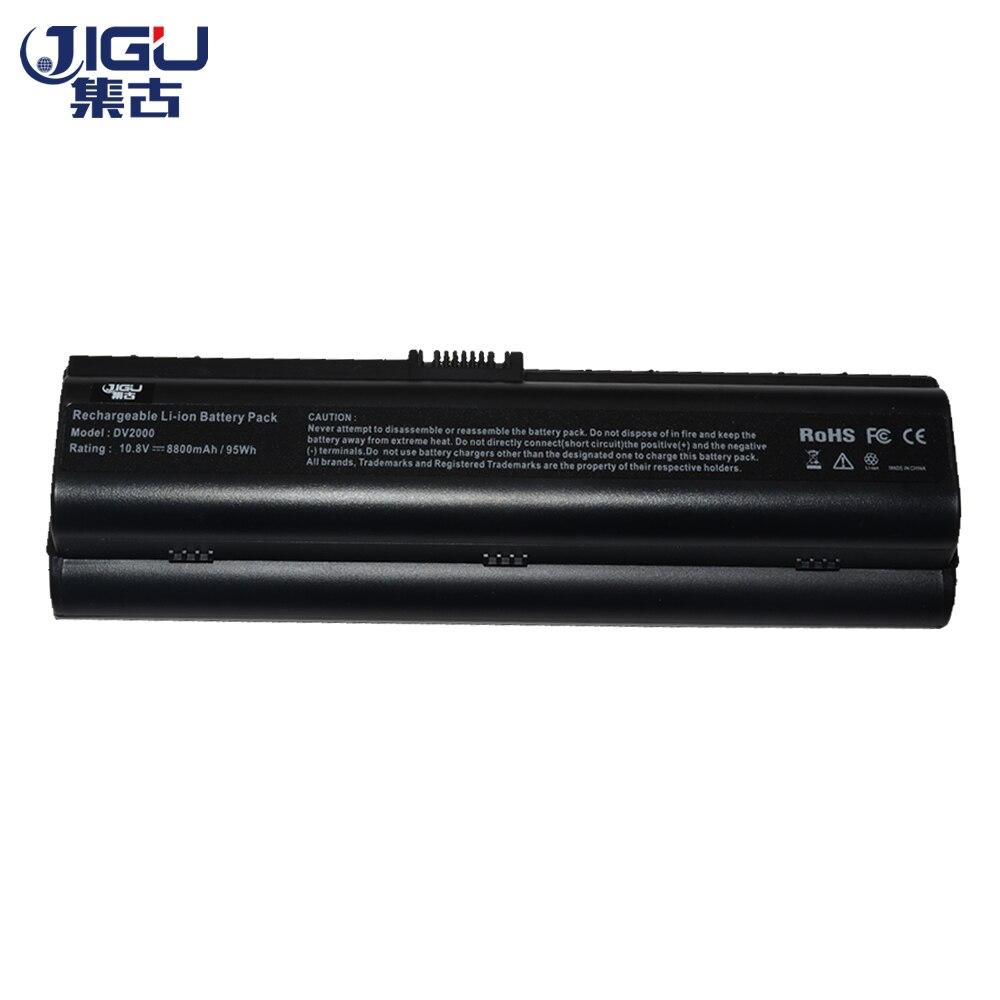 JIGU 12 Cell batería de ordenador portátil para HP pabellón DV2700T DV6300 DV6200 DV6500 DV6600 DV6500T DV2800T DV6000 DV6000T DV6000Z DV6100