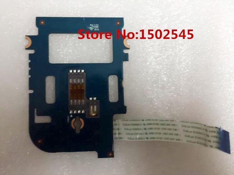 Envío Gratis Original TARJETA DE portátil lector para HP EliteBook 820 G1 825 G1 720 G1 725 G1 placa lectora de tarjetas con Cable 6050A2630901