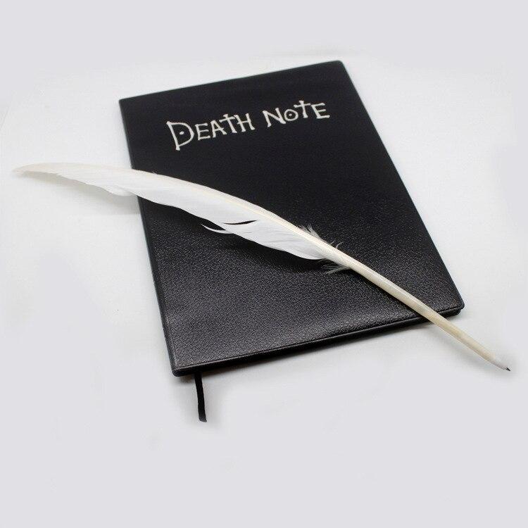 Nuevo cuaderno escolar para Cosplay de Death Note con temática de Anime, diario de escritura grande, regalo de moda para chicas o chicos para fiesta de Halloween
