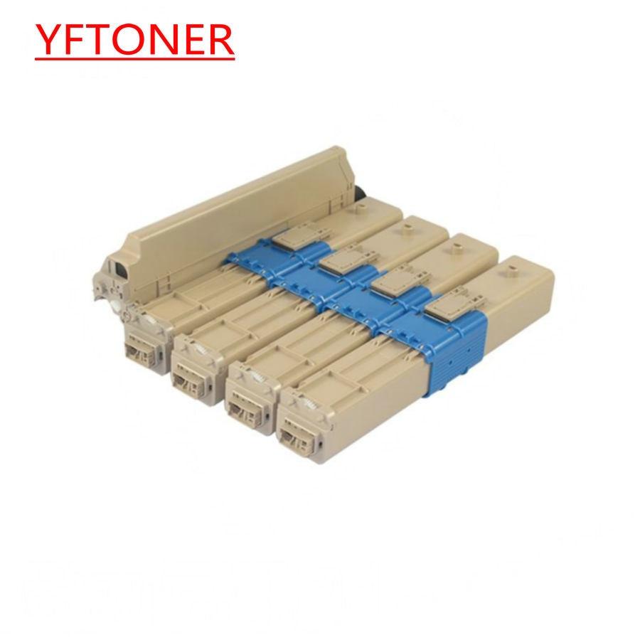 YFTONER cartucho de tóner para Oki c310dn c330dn c331dn c510dn c511dn c530 c531 mc35