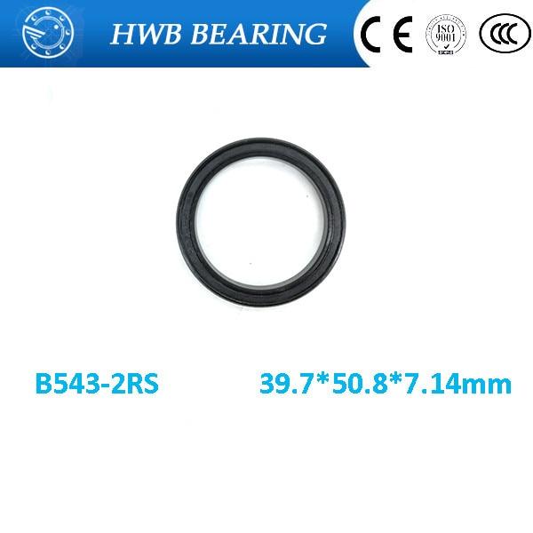 Envío Gratis, 397508, 2RS (39,7x50,8x7,14mm), rodamiento de bolas de complemento completo, B543-2RS máximo
