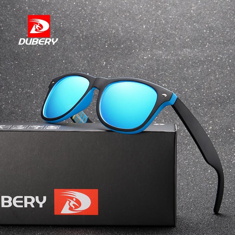 DUBERY 2018 Luxury Brand Polarized Sunglasses Men's Women Aviation Driver Shades Male Sun Glasses Fo