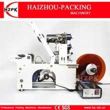 HZPK semi-automatique bouteille ronde étiqueteuse avec codage étiquette Machine dimpression contrôle de lénergie électrique petit emballeur MT-50C