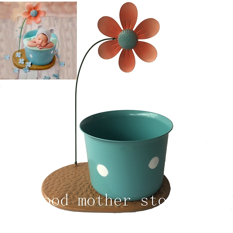 big flower Newborn photography props baby shooting auxiliary creative lovely posing flower props