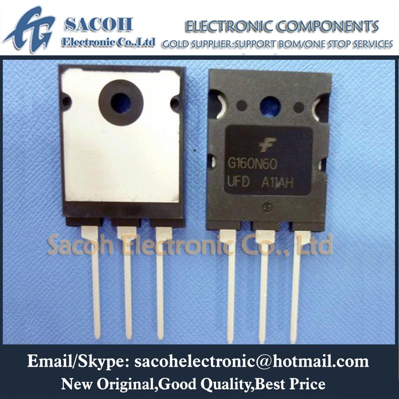 New Original 2PCS/Lot SGL160N60UFD G160N60UFD or SGL160N60UF G160N60UF G160N60 160N60 TO-3PL 160A 600V Power IGBT transistor