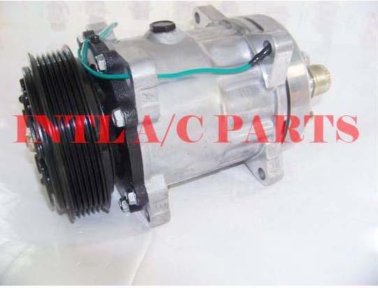 Compresor de aire acondicionado automático PV6 polea SANDEN SD709 SD-709 7H15 SD7H15