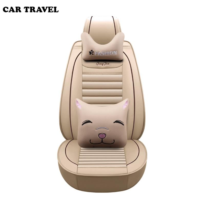 Cubierta universal de asiento de coche para volvo v50 v40 c30 xc90 xc60 s80 s60 s40 v70 accesorios de coche fundas para asientos de vehículos