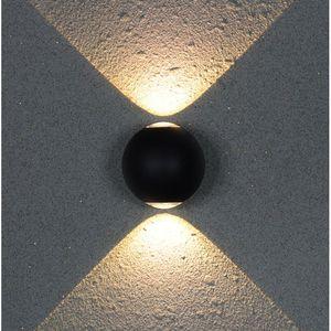 Aluminum Ball LED Wall Light Fixtures Bsthroom Mirror Lights Waterfool Outdoor Lighting Modern Wall Lamp Bedroom Bar Wandlamp