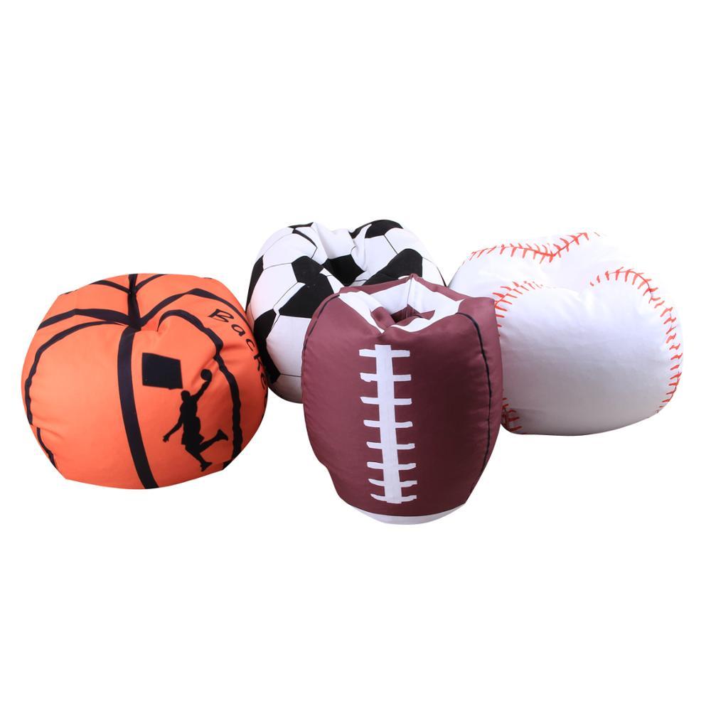 Bolsa de almacenamiento de juguetes de 18 pulgadas, bolsa de lona para fútbol básquetbol béisbol Rugby, organizador con forma de Animal relleno, bolsas de felpa, Popua