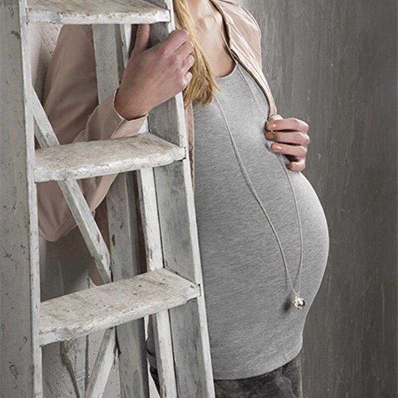 120cm cadena BabyBel Simple embarazo mamá e hijo Mex Bola Jingle Ball Chiming Bola de sonido colgante collar