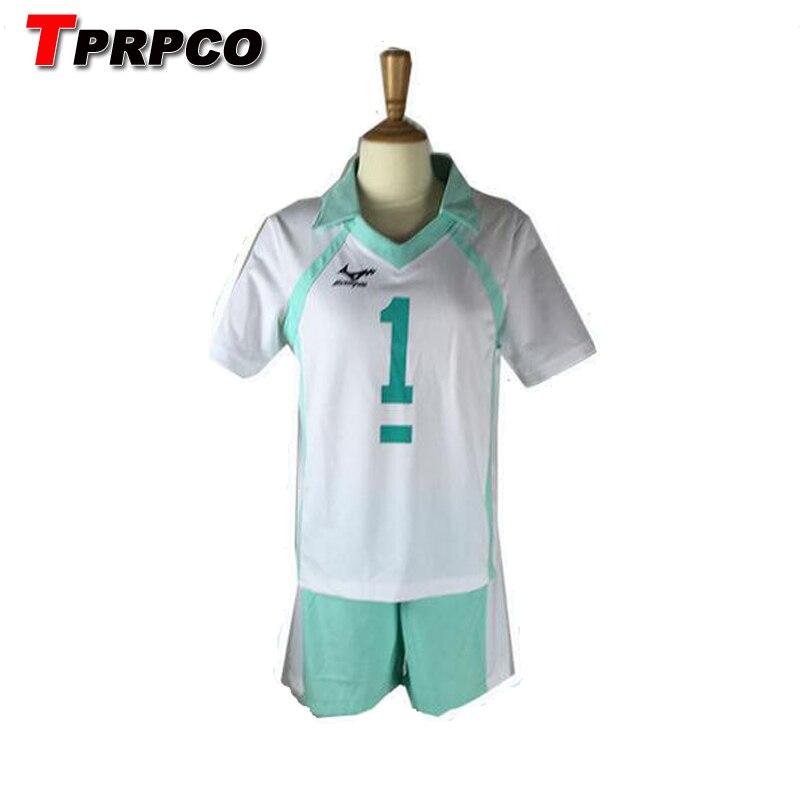 Haikyuu!! Aoba Johsai VBC Hohe Schule Cosplay Oikawa Tooru Volley ball Club Jersey Cosplay Kostüm Uniform Sportwear NL1621
