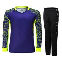 New Long sleeves Women/Men Badminton/Tennis set , Full Badminton Table Tennis Jerseys Quick Dry Gym T-Shirt Sports suits 3875