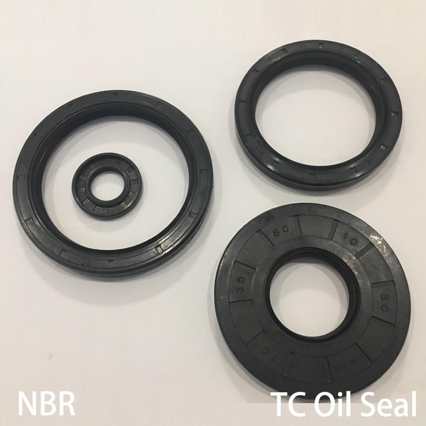 42*62*6/7/8/9/10/12 42x62x 6/7/8/9/10/12 goma de nitrilo negro NBR junta de doble labio TC junta de anillo de esqueleto de eje Radial sello de aceite
