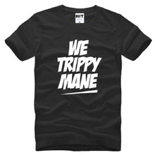 New Rap Drake T Shirts Men Cotton Short Sleeve WE TRIPPY MANE Drake Mens T-Shirt Summer Style Male Music Hip Hop Tops Tees